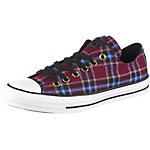 CONVERSE Plaid Sneaker Damen bordeaux/blau