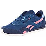 Reebok Classic Nylon W Slim Sneaker Damen blau/pink
