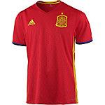 adidas Spanien EM 2016 Heim Fußballtrikot Herren rot