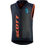 SCOTT Protector Vest Actifit JR Softshell Protektorenweste Kinder schwarz/orange