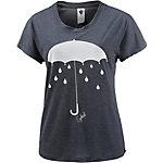 Ezekiel Umbrella T-Shirt Damen blau