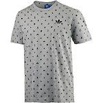 adidas Printshirt Herren hellgrau