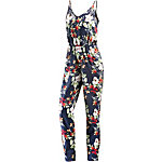 WLD Summer Look Jumpsuit Damen navy/allover