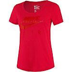 Nike Printshirt Damen rot