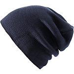 MasterDis Basic Flap Beanie navy