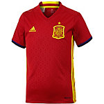 adidas Spanien EM 2016 Heim Fußballtrikot Kinder rot