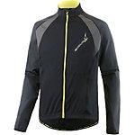 Endura Full Zip II Fahrradjacke Herren schwarz/gelb