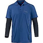 Maier Sports Marten Poloshirt Herren blau