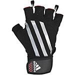 adidas Fitnesshandschuhe schwarz/silber
