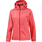 Maier Sports Tour Cycle Regenjacke Damen koralle