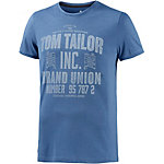 TOM TAILOR T-Shirt Herren jeansblau