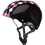 Nutcase Helm Preppy Pink Fahrradhelm schwarz