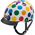 Nutcase Generation 3 Dots Fahrradhelm weiß/bunt