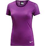 Nike Pro Funktionsshirt Damen lila