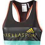 adidas Sport-BH Damen schwarz/orange