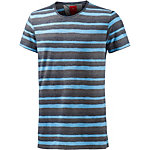 S.OLIVER T-Shirt Herren türkis/grau