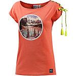 Picture Indian Summer T-Shirt Damen koralle