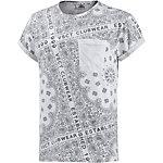 VSCT Printshirt Herren weiß/grau