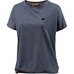 Naketano Detroit House III Oversize Shirt Damen indigo melange
