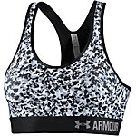 Under Armour Sport-BH Damen schwarz/weiß