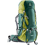 Deuter Aircontact 65+10 Trekkingrucksack dunkelgrün/grün