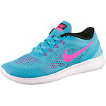 Nike Free Run Laufschuhe Damen aqua