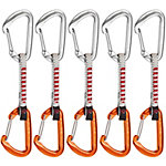 Mammut Wall Expressen orange/silberfarben