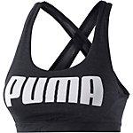 PUMA Sport-BH Damen schwarz/weiß