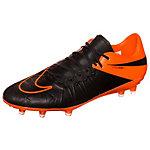 Nike Hypervenom Phinish Fußballschuhe Herren schwarz / orange