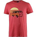 Maui Wowie T-Shirt Printshirt Herren rot