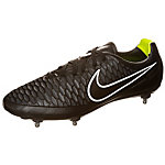 Nike Magista Orden Leather Fußballschuhe Herren schwarz / weiß