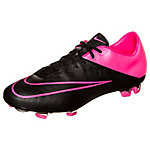Nike Mercurial Veloce II Leather Fußballschuhe Herren schwarz / pink
