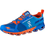 ON Cloudflyer Laufschuhe Herren blau/orange