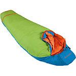 VAUDE Dreamer Adjust 450 Kunstfaserschlafsack Kinder blau/grün