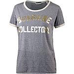 Maison Scotch Printshirt Damen graumelange