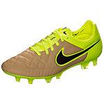 Nike Tiempo Legend V Fußballschuhe Herren braun / neongelb