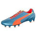PUMA evoSPEED 1.2 Fußballschuhe Herren blau / orange