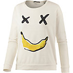 Maison Scotch Sweatshirt Damen ecru