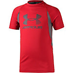 Under Armour Funktionsshirt Jungen rot/grau