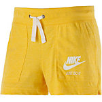 Nike Gym Vintage Shorts Damen gelb
