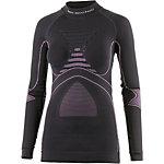 X-Bionic Accumulator Funktionsshirt Damen grau/pink