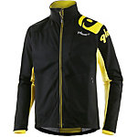 Qloom Cross Coutry Jacket Big Sky Laufjacke Herren schwarz/gelb