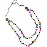Maui Wowie Heart Halskette Damen schwarz/bunt