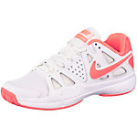 Nike Air Vapor Advantage Tennisschuhe Damen weiß/korall