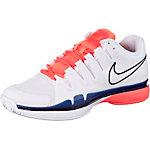 Nike Zoom Vapor 9.5 Tour Tennisschuhe Damen weiß/korall/blau