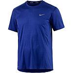 Nike Dri-Fit Miler Laufshirt Herren dunkelblau