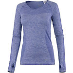Nike Dri-Fit Knit Lauflangarmshirt Damen hellblau