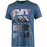 Maui Wowie Printshirt Herren dunkelblau