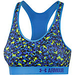 Under Armour Sport-BH Damen petrol/gelb