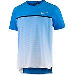 Nike Challenger Premier Crew Funktionsshirt Herren blau/weiß